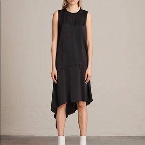 ALL SAINTS Black Dress
